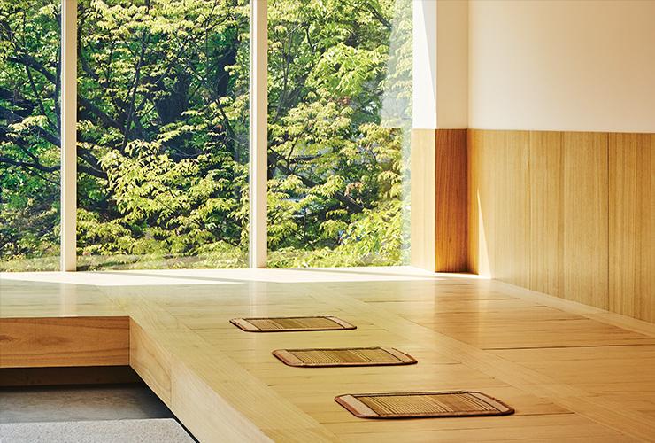 피크닉의 〈명상〉 전시 마지막 코스는 옥상에서 차를 마시며 잠시 마음을 다독여보는 시간이다. © JUNG WOOYOUNG