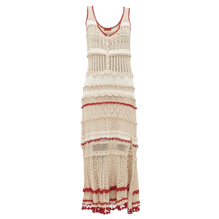 보디라인을 드러내는 보헤미언풍의 니트 드레스는 1백57만원대, Altuzarra by Matchesfashion.