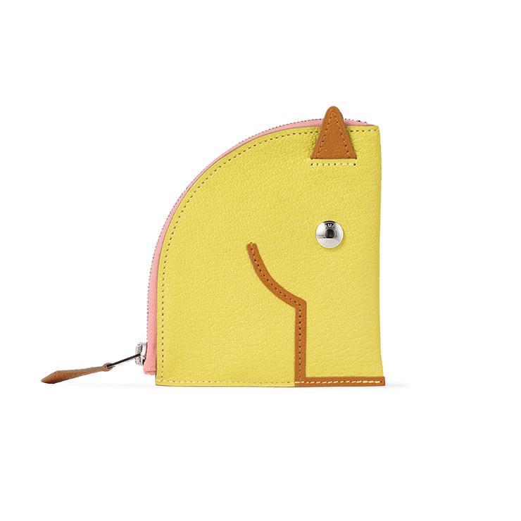 말 모양을 형상화한 동전 지갑 가격미정 에르메스.