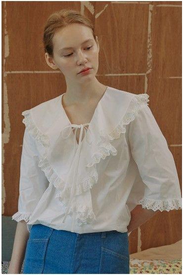 vocavaca - Juliet Lace Blouse