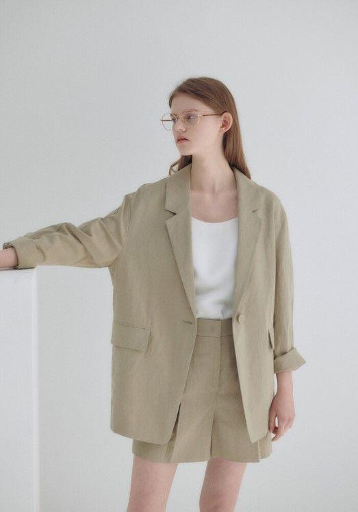 닐 바이 피 by W컨셉 - 20N summer roomy jacket
