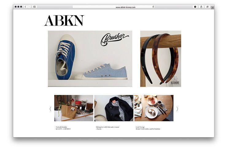 에보키니(www.abbot-kinney.com)
