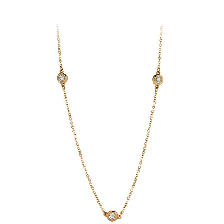 Tiffany & Co. 다이아몬드 바이 더 야드 네크리스, 가격 미정