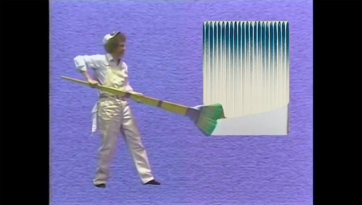 인세인 박, Joy of Painting (그림을 그립시다), 2020, 싱글 채널 비디오, 사운드, 6분 49초 ⓒInsane Park and Arario Gallery