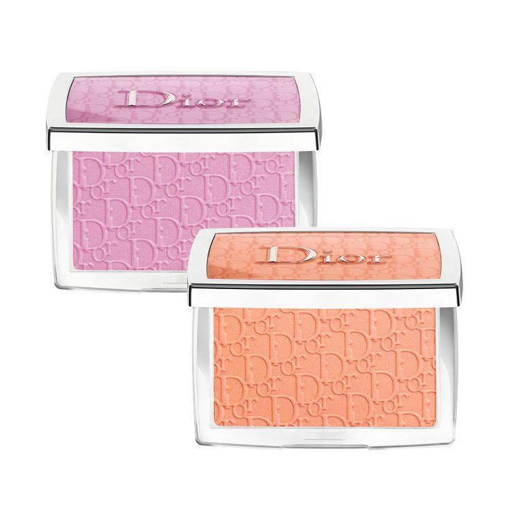수채화처럼 부드럽게 펴 발리는 디올 백스테이지 로지 글로우, 001 핑크, 004 코랄, 각 5만6천원, Dior.