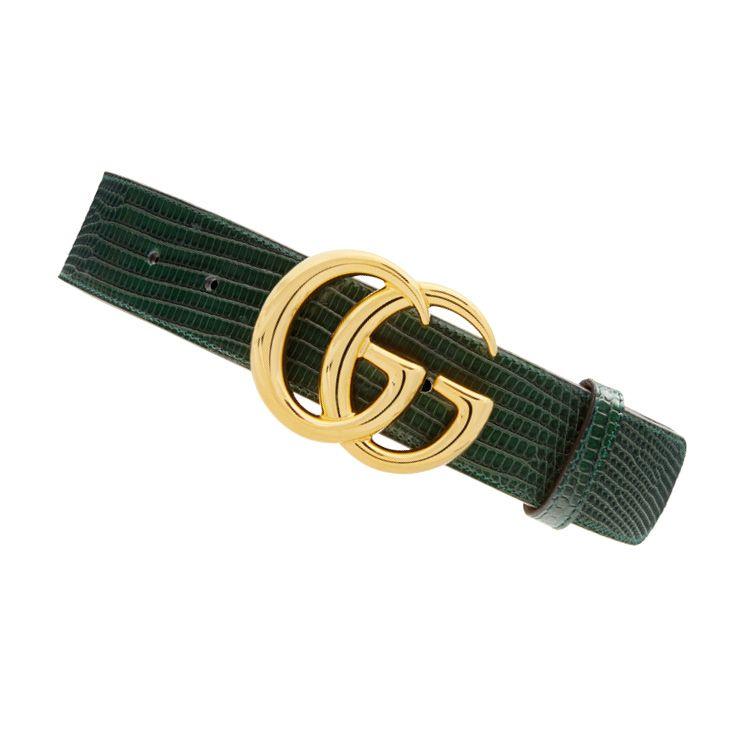 GG 로고 버클 벨트는 가격 미정, Gucci.