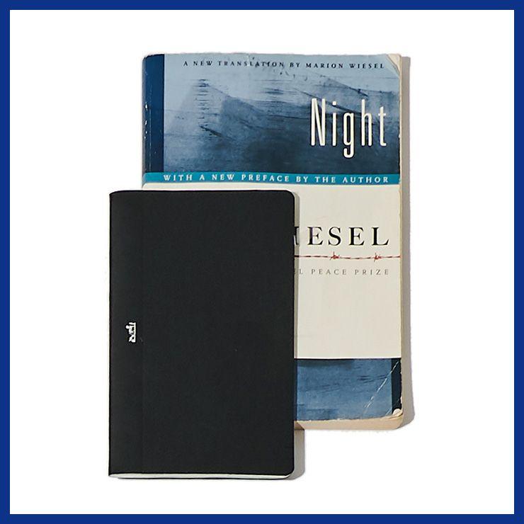 (왼쪽부터) 노트북 가격 미정 에르메스. 소설 〈NIGHT〉 가격 미정 에디터 소장품.