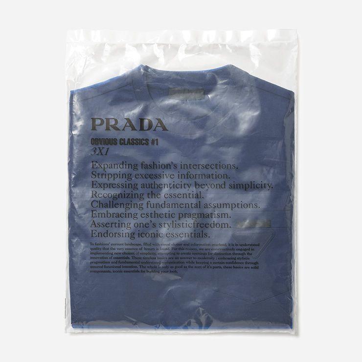 포켓 티셔츠 3개입/가격 미정 프라다.