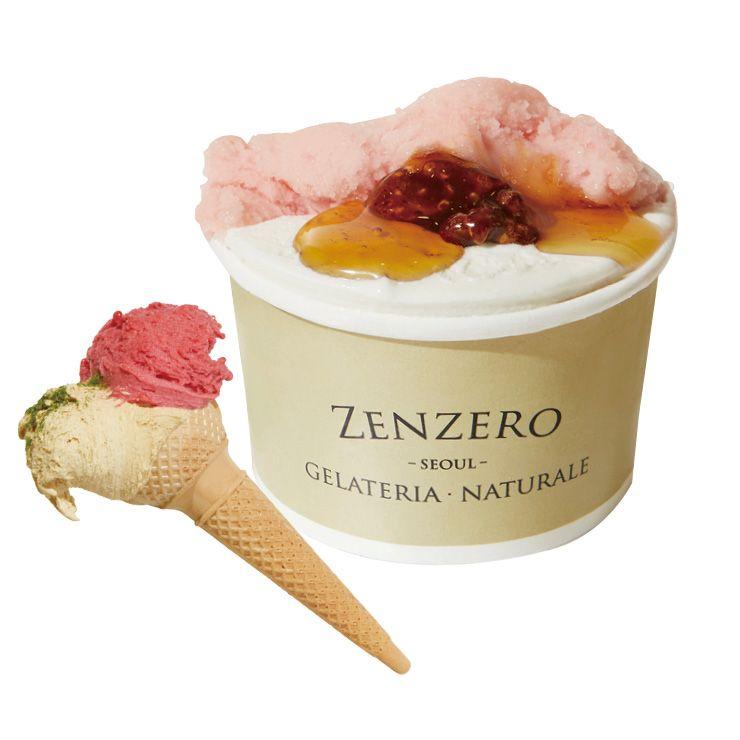 매일매일 라인업이 달라지는 젠제로의 아이스크림은 6천원부터.