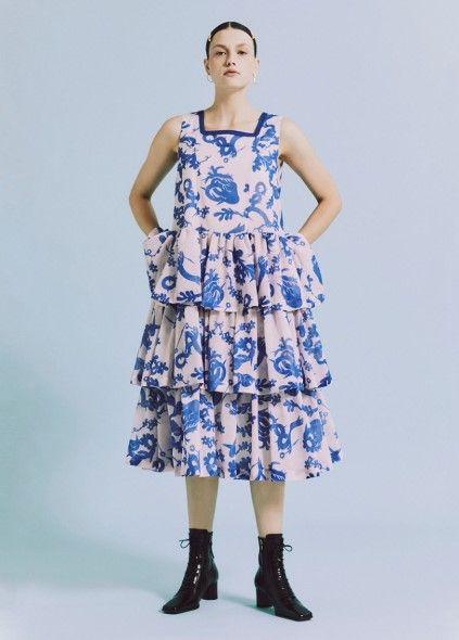 캉캉 러플 드레스, 55만 6천 원.