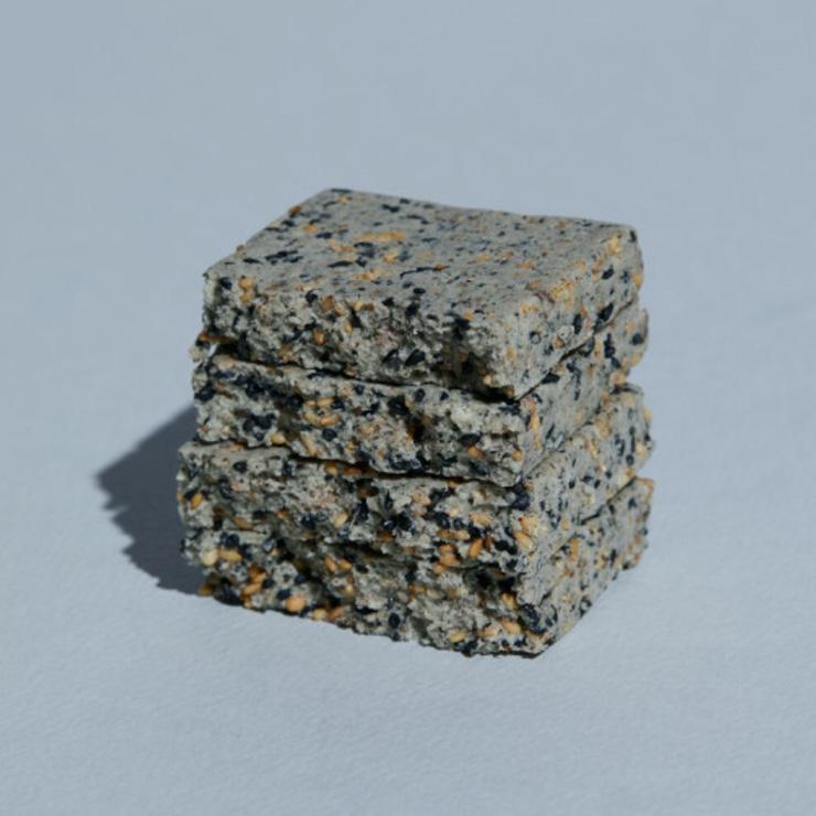 프로틴방앗간 하루단백바 흑임자 1개(45g) 2천5백원.