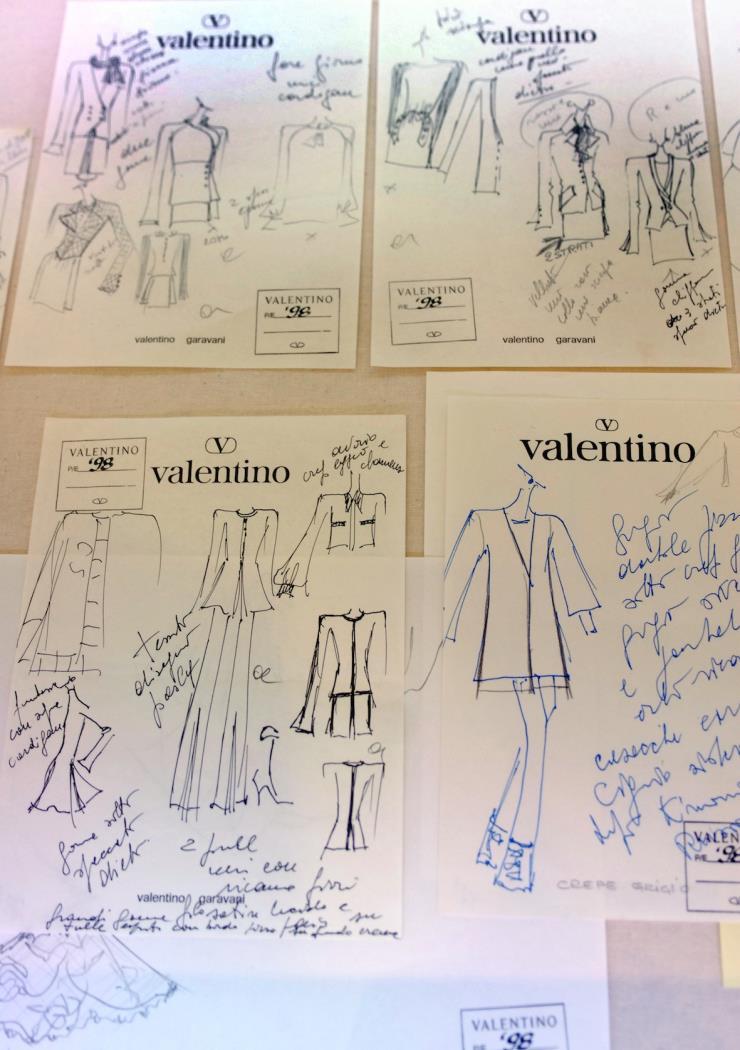 2007년, 로마에서 열린 발렌티노 45주년 기념 전시회. Ⓒ게티 이미지