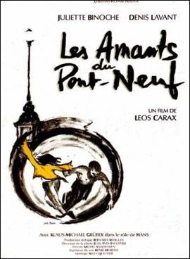 영화 〈퐁네프의 연인들〉 포스터.