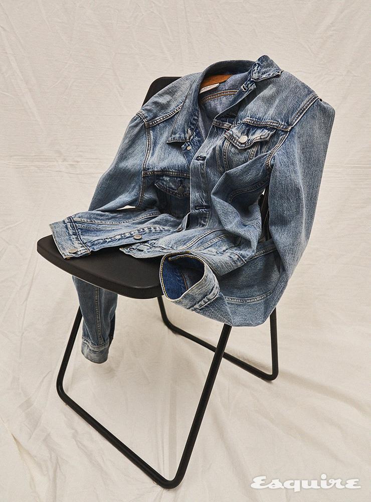 데님 트러커 재킷 12만9000원 리바이스.