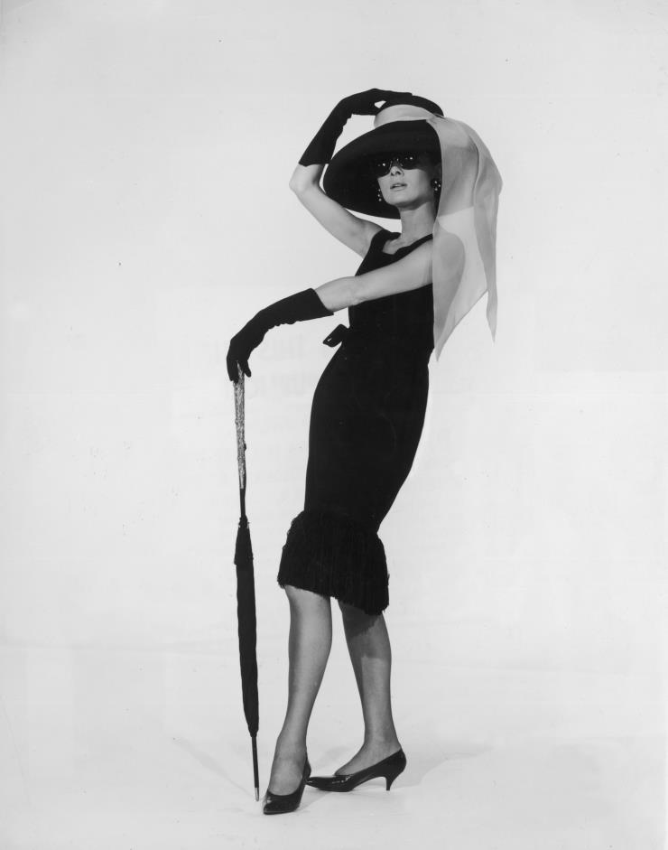 지방시 드레스를 입은 오드리 헵번. ⓒGetty Images