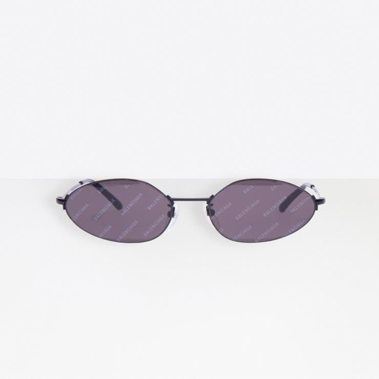 발렌시아가 INVISIBLE OVAL SUNGLASSES
