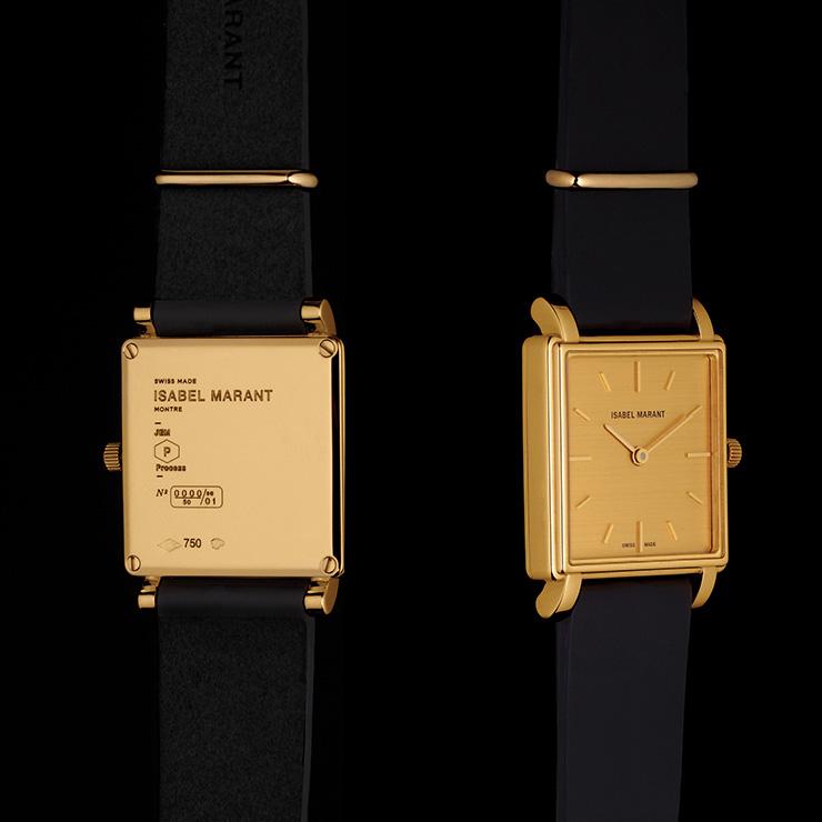 프렌치 시크를 명확히 보여주는 '라몽트르' 시계.