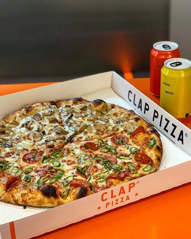 클랩 피자 @clappizza