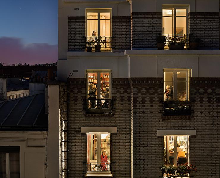 Out My Window, Le 1 novembre 2012, rue de Belleville, Paris-20e.