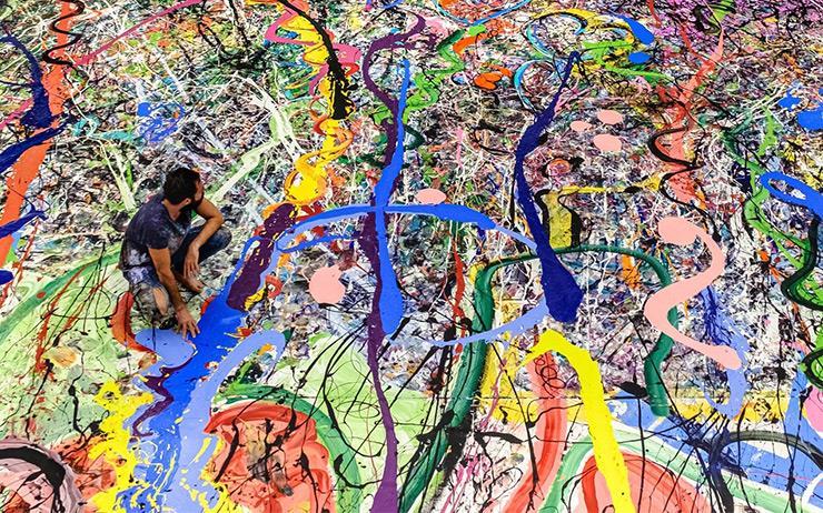 세상에서 가장 큰 캔버스 페인팅, Sacha Jafri의 〈The Journey of Humanity〉