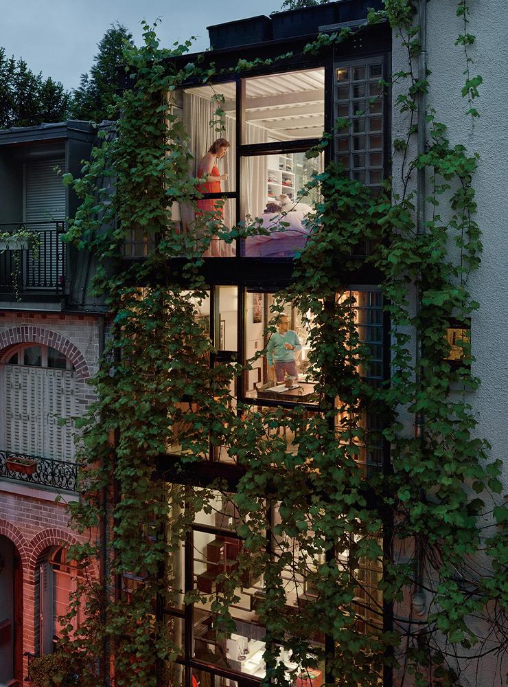 Out My Window, 20 Mai,2013, Villa Santos-Dumont, Paris 15e.
