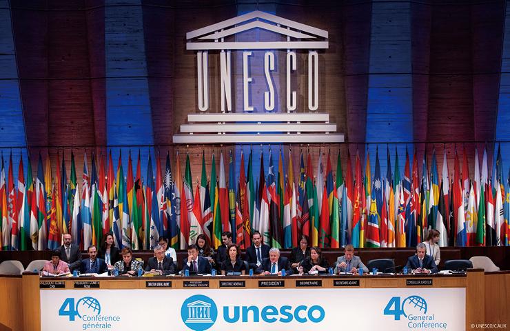 제40회 UN 정기총회 개회식에서.