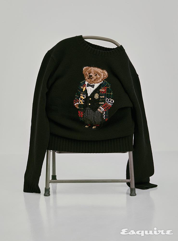 가을이 기다려지는 폴로 베어 스웨터