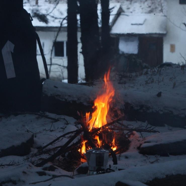 숲속의 오두막