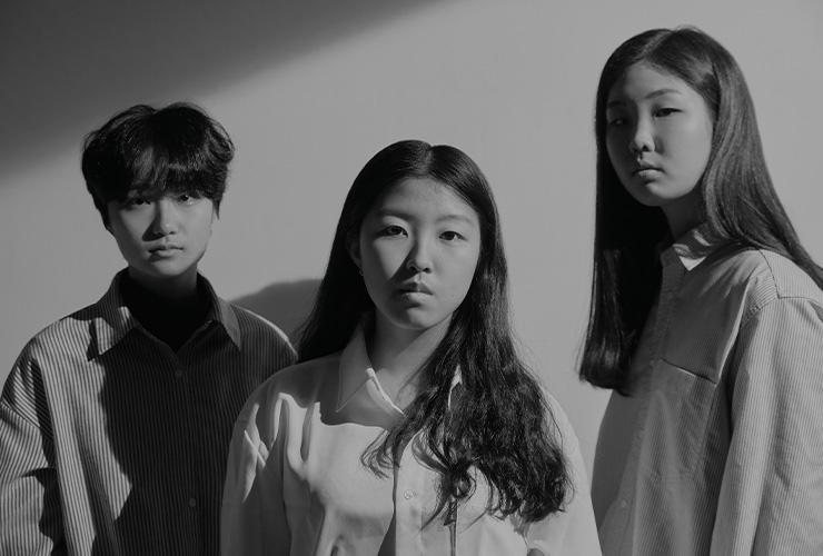 (왼쪽부터) 오민서, 김유진, 성경운.
