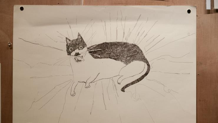 〈Drawings〉 부분 촬영.