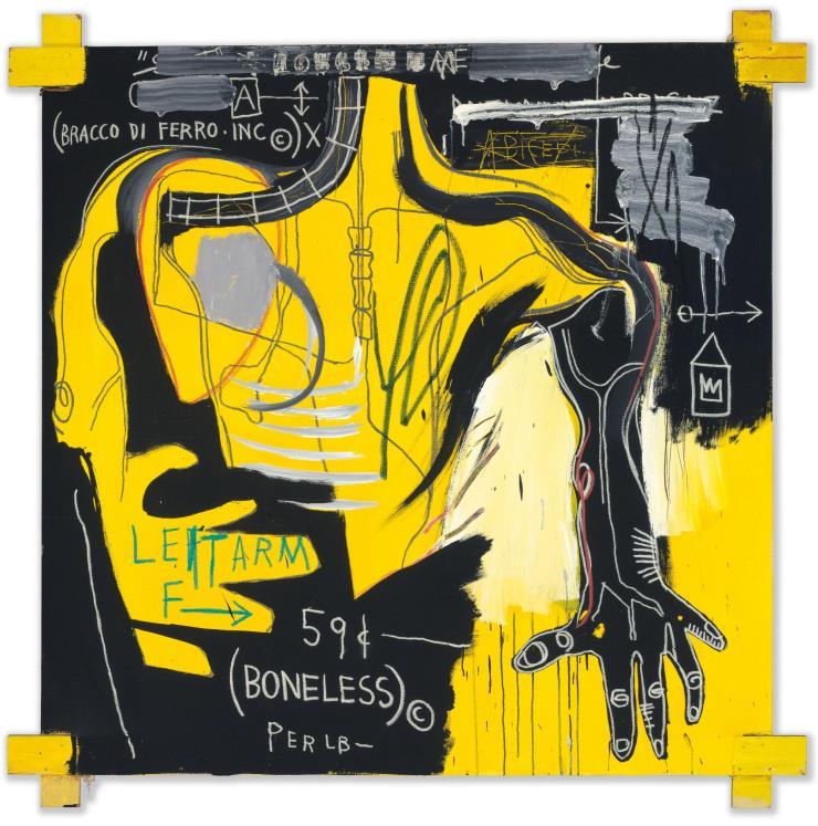 'Untitled (Bracco di Ferro)', 1983.