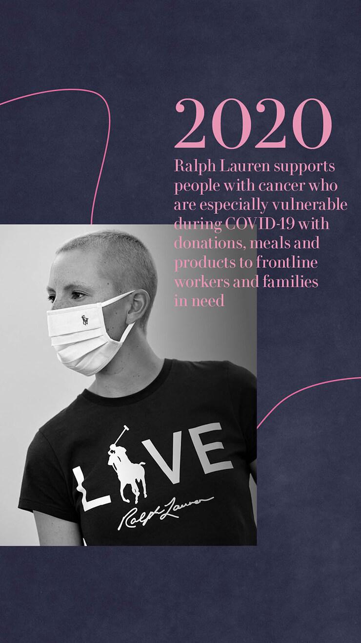 랄프 로렌 핑크 포니 캠페인의 20주년 히스토리