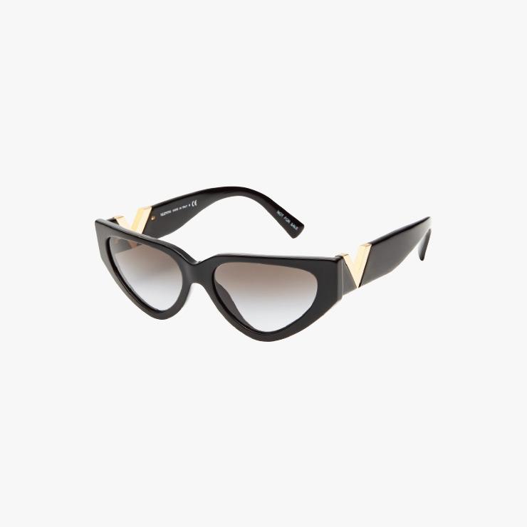 로고 장식 선글라스는 Valentino Garavani.