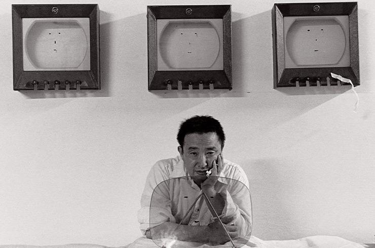임영균, 〈백남준의 기억, 1983〉, 백남준아트센터 소장.