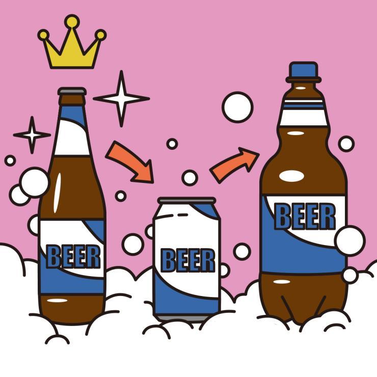 맥주를 더 맛있게 먹는 비법_페트 VS 병 VS 캔