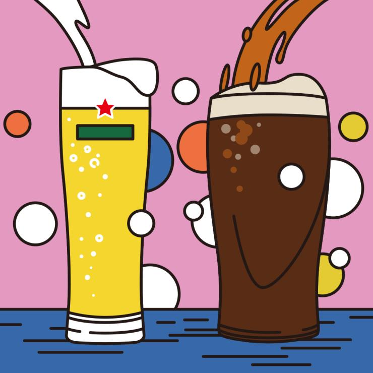 맥주를 더 맛있게 먹는 비법_맥주는 전용잔에