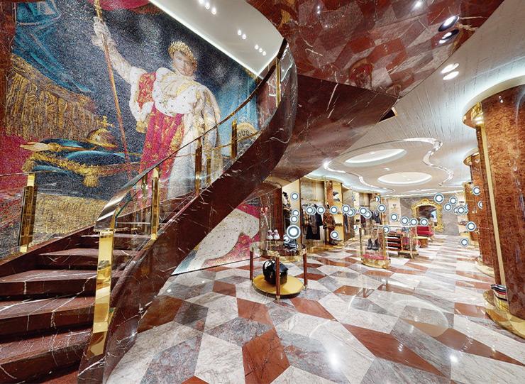 借助Dolce&Gabbana的VR精品店,您只需单击即可访问位于巴黎的Dolce&Gabbana。