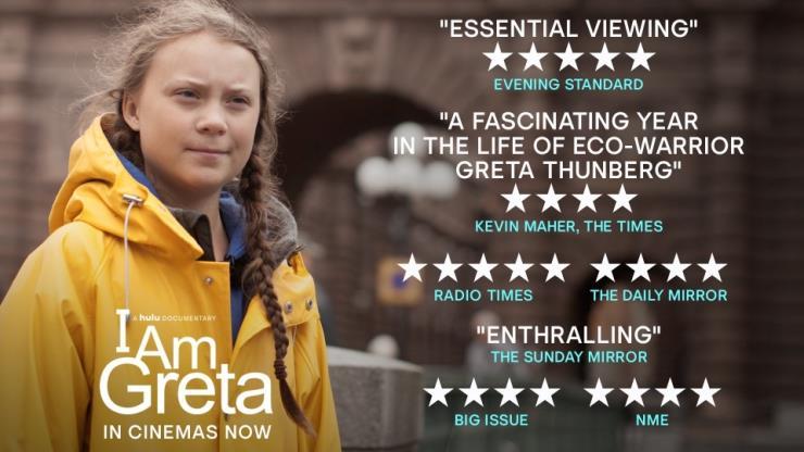 영화 I Am Greta가 6월 국내 개봉된다 (사진 그레타 툰베리 트위터)/뉴스펭귄